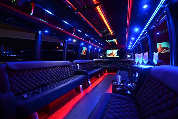 40 Person Party Bus Rental Denver